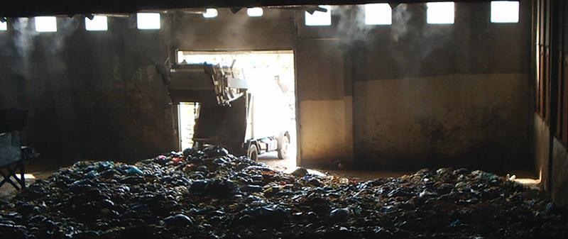 Trattamento Odori uso della Nebulizzazione nel compostaggio industriale