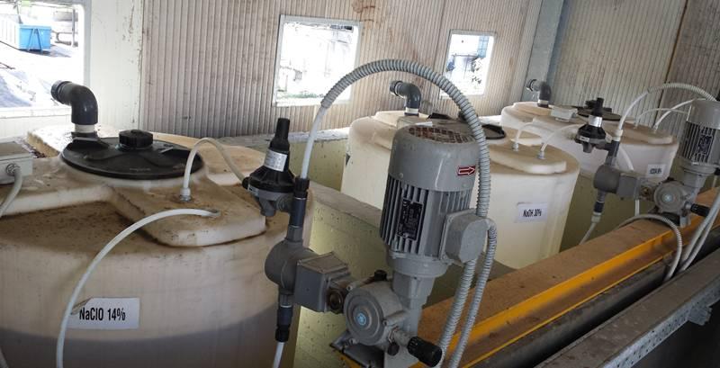 Abbattimento Odori, intervento di ottimizzazione di uno scrubber - reagenti chimici