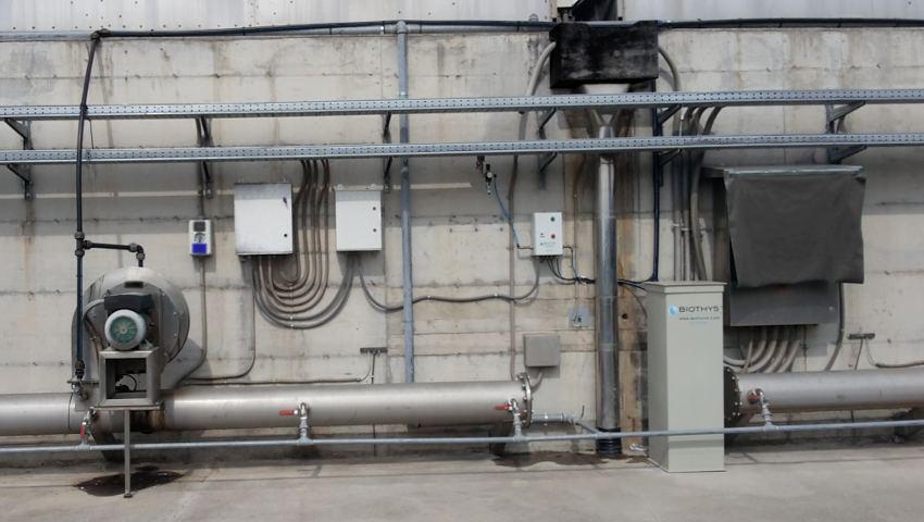 Abbattimento Odori: Compostaggio Industriale con Microtec nelle canale di aerazione