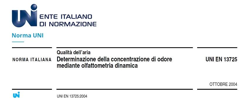 Odori Molesti Normativa - Norma UNI EN 13725:2004