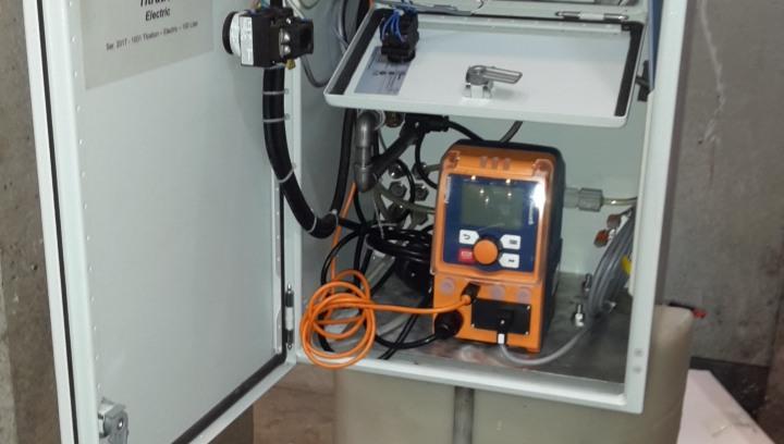 Fanghi di Depurazione - pompa dosatrice EXAIR A-HR-20 - Fanghi