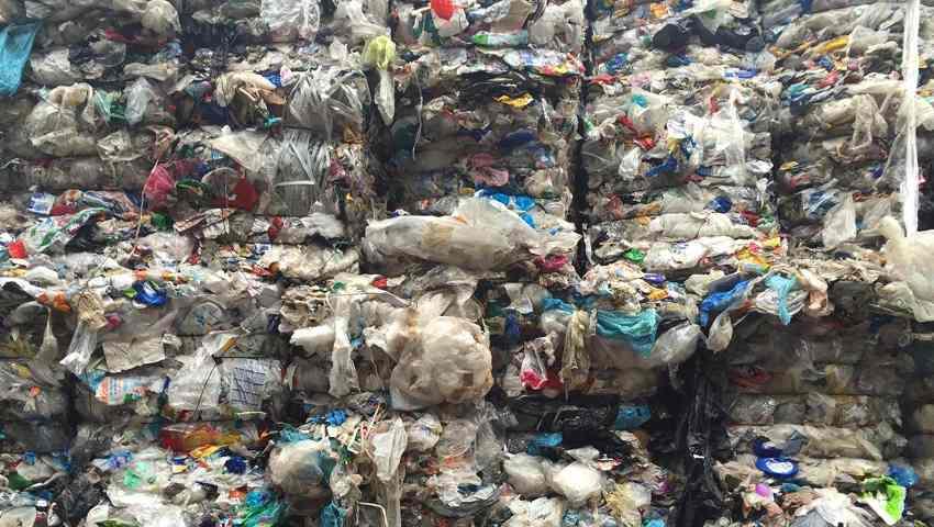 Imballaggi in plastica - stoccaggio