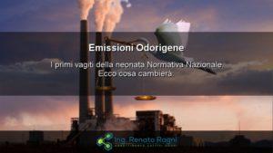 Emissioni Odorigene è appena nata la nuova Normativa Nazionale